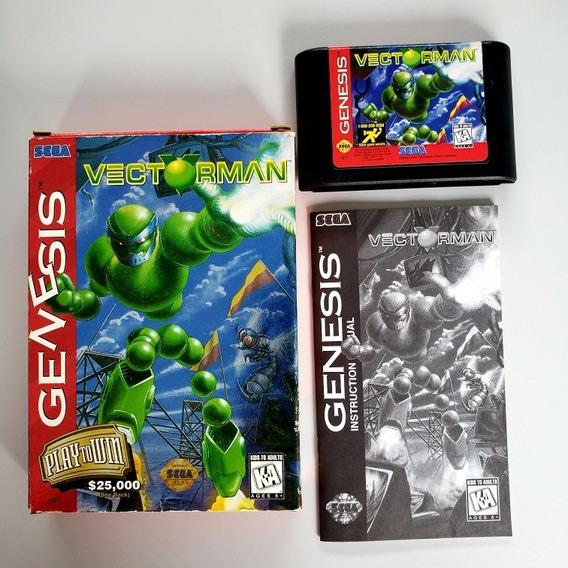 Vectorman 1 Original Mega Drive Sega Genesis