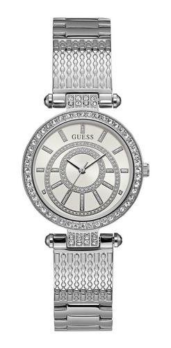 Relógio Guess Feminino Analógico Prata 92666l0gdna1 W1008l1