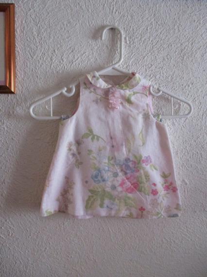 Vestido Bebé Niña Con Pañalero Zara 6 A 9 Meses Oferta