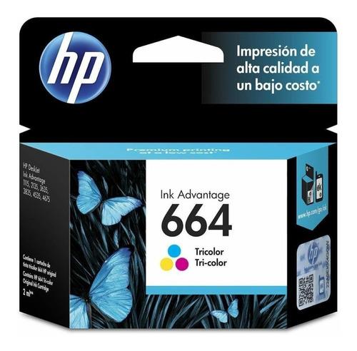 Cartucho Hp 664 Color Para Hp 2135 3635 2675  Original