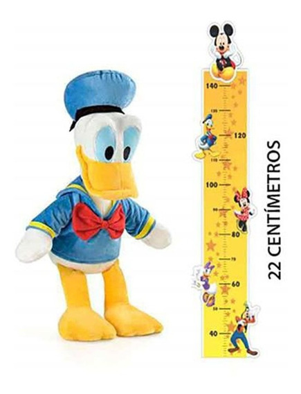Pelúcia Com Som Personagens Disney Pato Donald Multilaser