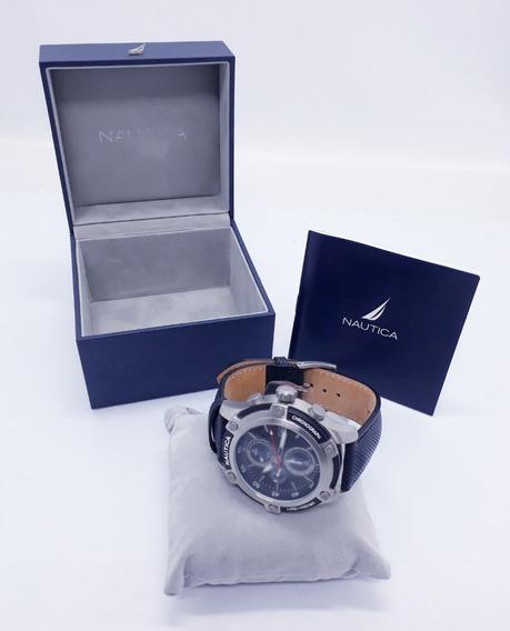 Relógio Nautica N17573g Chronograph Wr100m Original