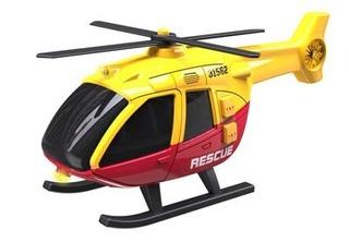 Helicopetro C Luz Y Sonido Teamsterz Hti Wabro 4081