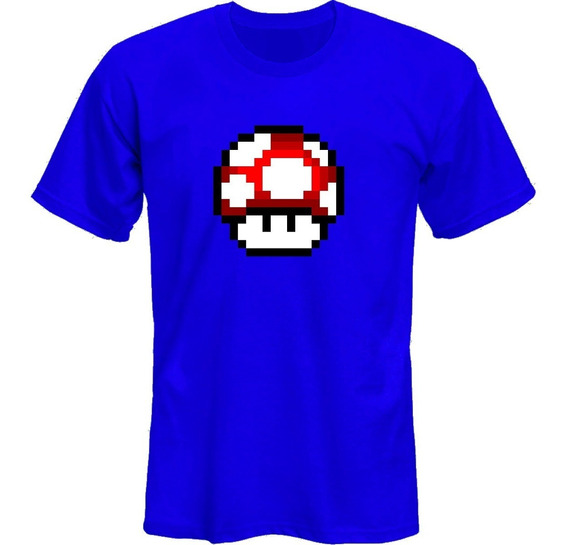 Remeras Mario Bros Hongo Family Vg *mr Korneforos*