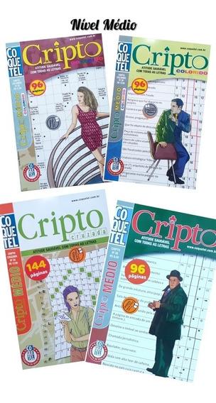 Kit Cripto Coquetel 04 Volumes Diferentes