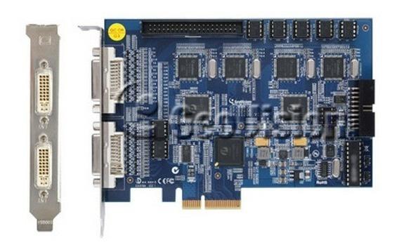 Geovision Gv1240a Dvr 480fps Dvi 16 Canais Pcie C/ Cabos