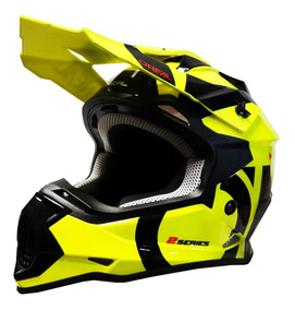 Casco Oneal Motocross Enduro Mtb 2 Series Slick Amarillo