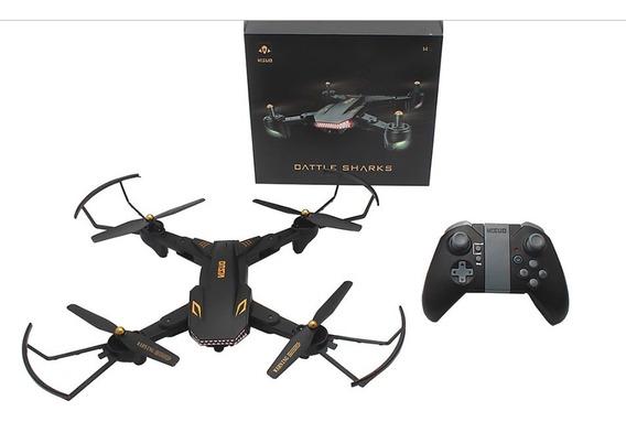 Drone Visuo Xs809s 2.0mp 720p Câmera Angular 20 Min Vôo