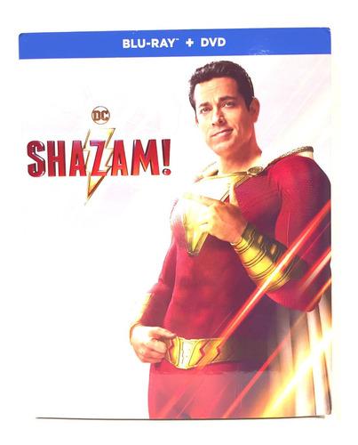Shazam Zachary Levi  Blu-ray + Dvd Nuevo Original