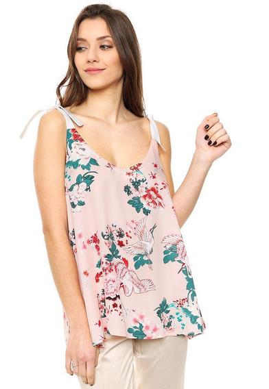 Blusa Estampada Marca Mia Loreto Modelo Tenerife