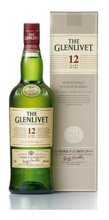 Whisky The Glenlivet 12 Años 750 Ml En Estuche
