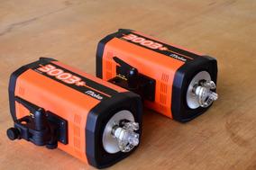 Dois Flash Mako 3003+ Autovolt (nikon Canon D4 D5 D7200 60d)
