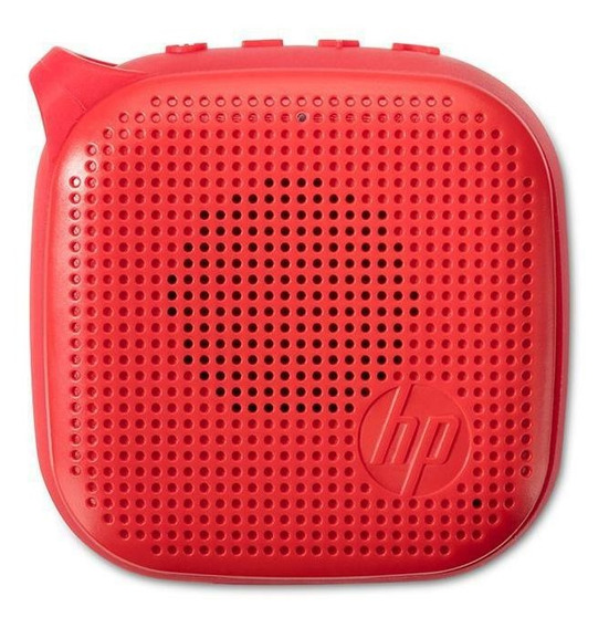 Caixa De Som Bluetooth Mini Speaker 300 3w Rms - Hp S300 (vermelha)