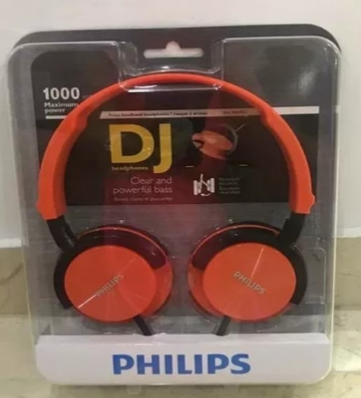 Audifonos Tipo Dj Phillips