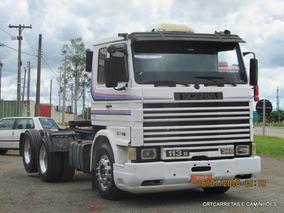Scania T113 360 6x2 6 Marchas Motor Novo,6 Rodas De Alumínio