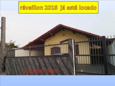 Alugo Casa 200 Mtos Da Praia - Piscina - Peruibe- M.h.novaes