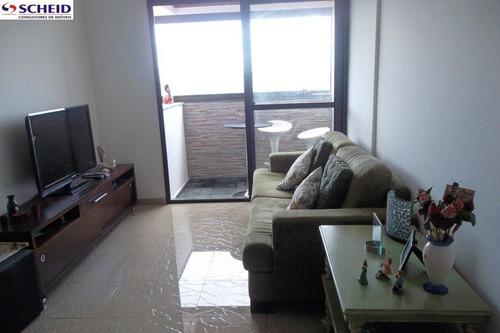Imagem 1 de 15 de *apto 65 M² Com 2 Dormitórios, 2 Banheiros, 1 Vaga, Cozinha Ampla, Área De Serviço, Fácil Acesso!*  - Mc834