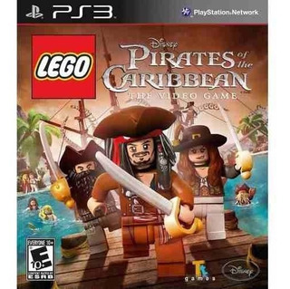 Lego Pirates Of The Caribbean Ps3 Fisico Usado Blu Ray.