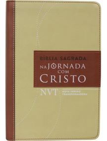 Bíblia Sagrada - Na Jornada Com Cristo - Marrom