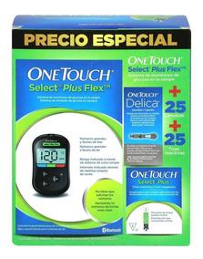Glucómetro One Touch Con 25 Lancetas Y 25 Tiras Reactivas