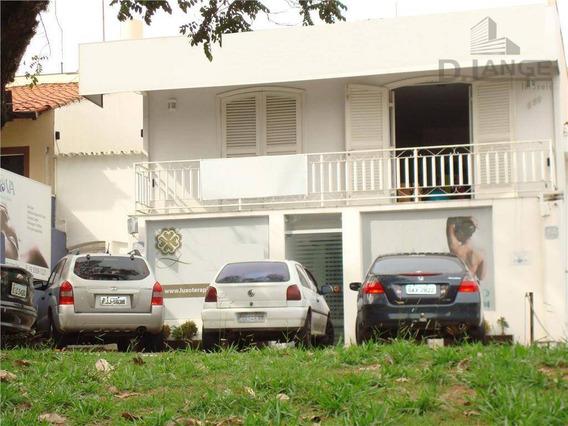 Casa Comercial À Venda, Taquaral, Campinas - Ca8535. - Ca8535