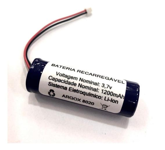 Bateria Para Argox 8020 Leitor De Código De Barras 3,7v Off