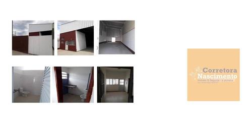 Galpão À Venda, 173 M² Por R$ 440.000,00 - Residencial Parque Dos Sinos - Jacareí/sp - Ga0147