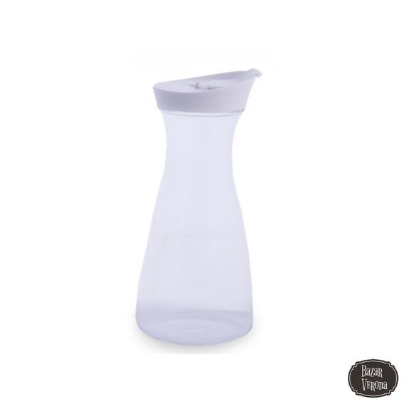 Botella Jarra Acrílico Con Tapa 1.6 Litros