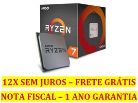Processador Amd Am4 Ryzen R7-1700x 8-core 3.8ghz 20mb Cache