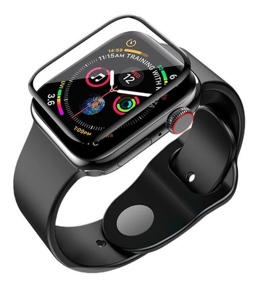 Pelicula Nano Gel Apple Watch Todos Modelos 6d Curvada