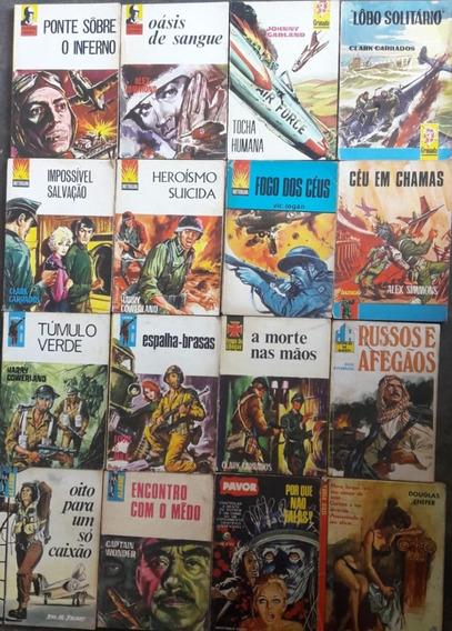 Bolsilivro 16 Livros Granada Metralha Bazuca Alarme E Outros