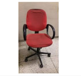 Cadeira Escritório Giratória Vermelha Usadas Nao Enviamos