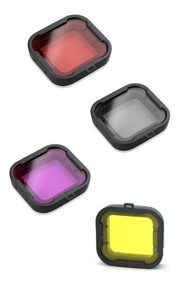 Filtro Para Gopro- Kit Com 4 Filtros