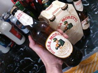 Cerveza Birra Moretti 660cc Importada Italia ,ret X Ferro