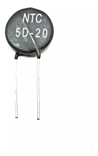 Termistor Ntc 5d-20 5 Ohm 7 A