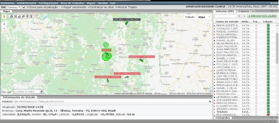 Sistema De Rastreamento Gps On-line Em Tempo Real
