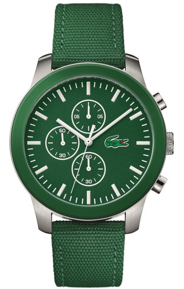 Relógio Lacoste Masculino Nylon Verde