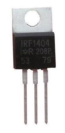Transistor Irf1404 Pacote Com 10 Peças