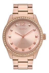 Relógio Euro Rose Feminino Analógico Eu2035yrm/4j