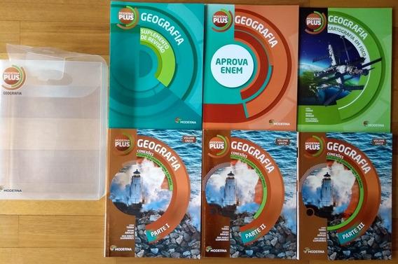 Box Completo 6 Livros Geografia Conexões Semi-novos