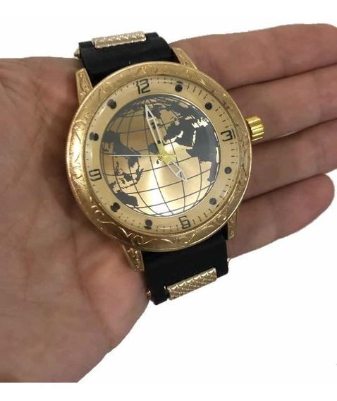Relógio Masculino Importado De Luxo Gold Timer