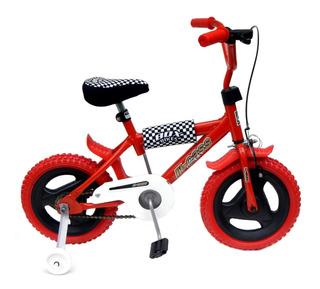 Bicicleta Rodado 12 Full Freno Protecciones R12 Envio Gratis