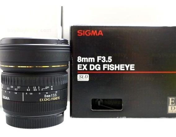 Lente Para Câmera Fotográfica - 8mm F/3.5 Ex Dg Canon