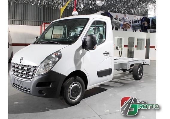 Chassi Cabine Renault Master L2h1 Branco Motor 2.3 2020 0km