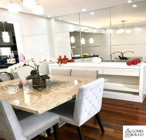 Apartamento Para Venda Em Mauá Centro De Alto Padrão Totalmente Mobiliado. - Ap00244 - 67611966