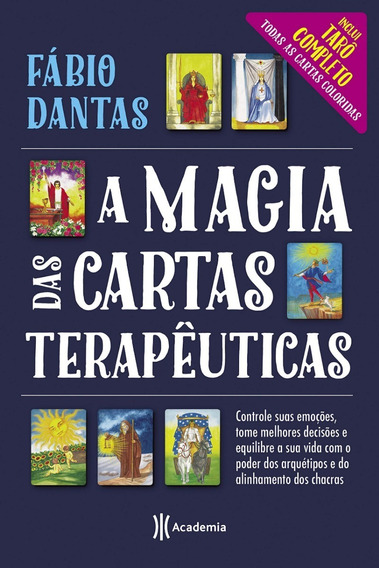 Livro A Magia Das Cartas Terapêuticas - Fábio Dantas