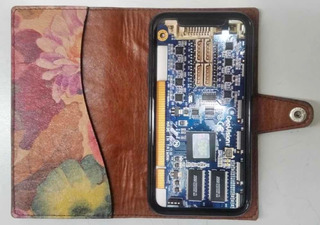 Funda Librito Case Cuero Genuino iPhone 11 - Maybe -