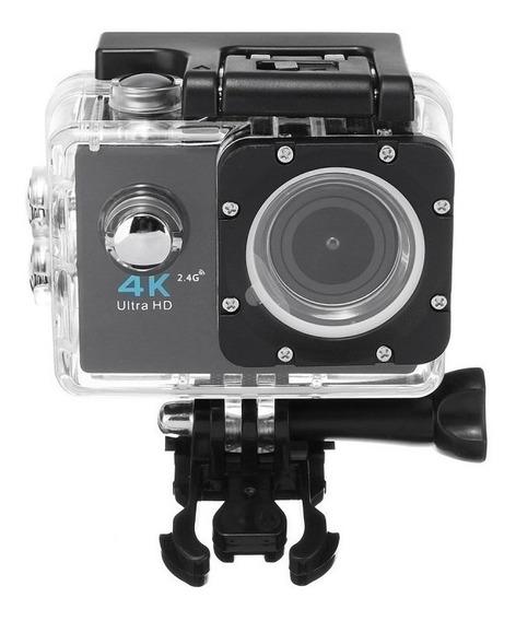 Câmera Action 4k Sports Ultra Hddv 30m A Prova D