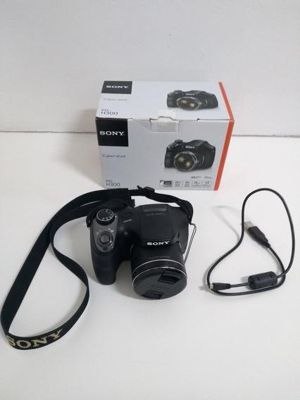 Câmera Sony Cybershot Dsc-h300 Zoom Óptico 35x 20.1 Mp