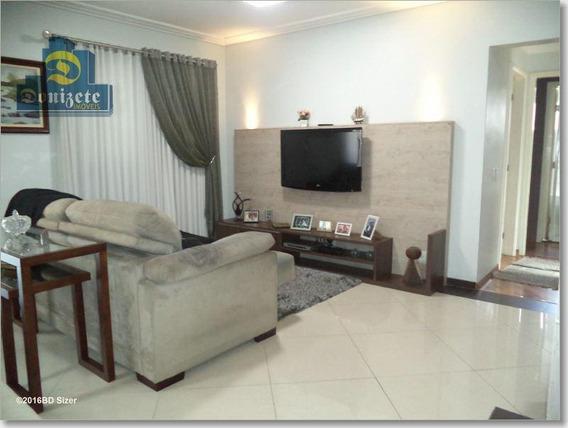 Apartamento Com 3 Dormitórios À Venda, 134 M² Por R$ 869.000,00 - Campestre - Santo André/sp - Ap4347